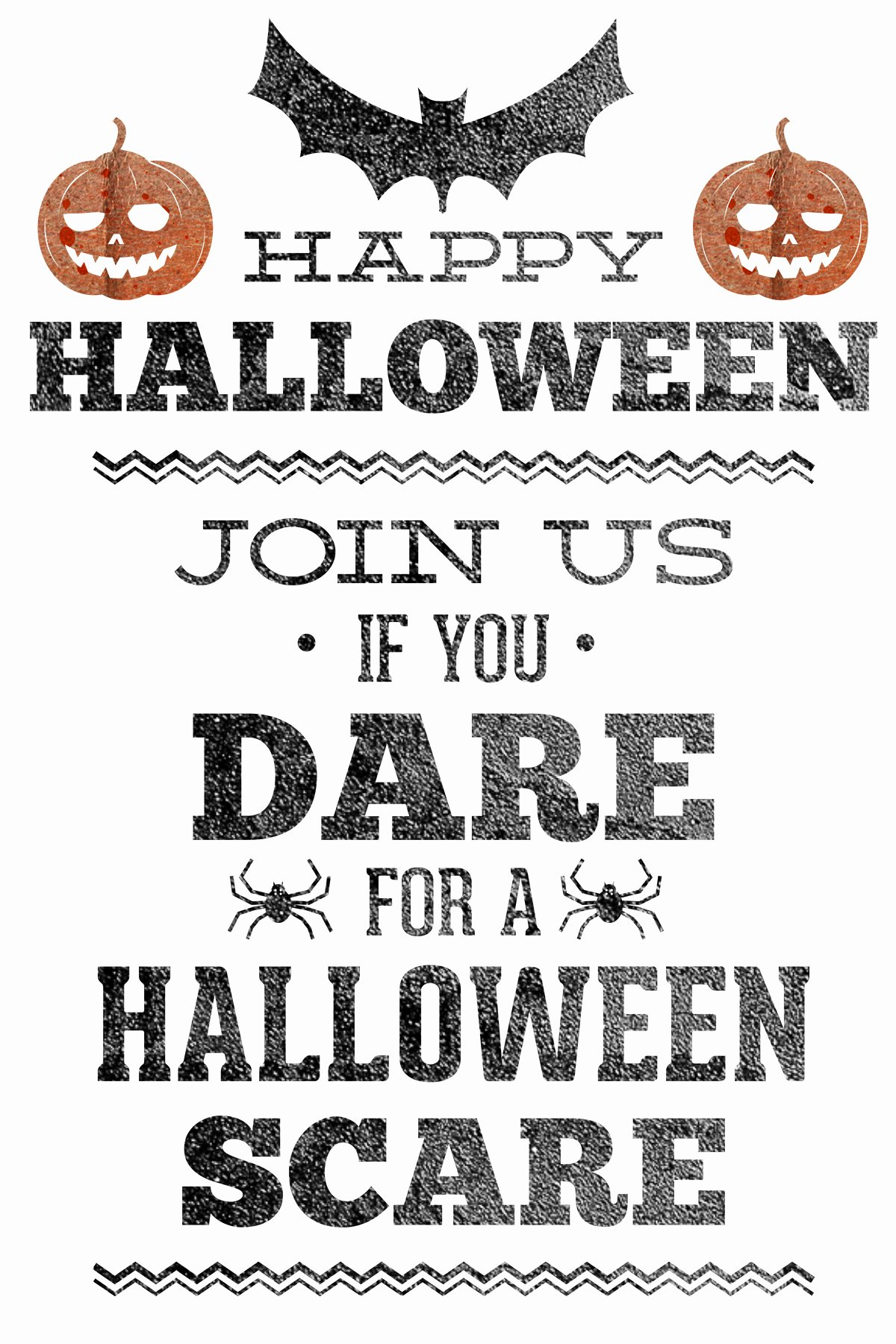 Halloween Party Invitations Free Printable – Festival