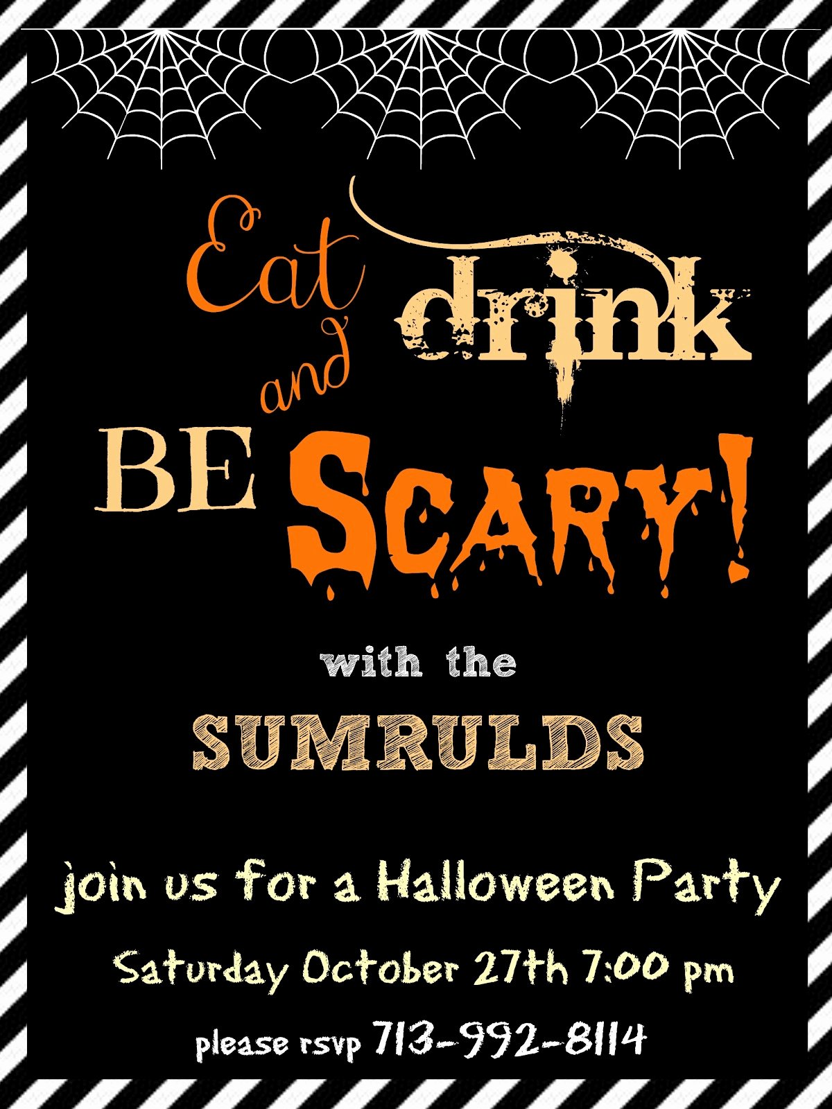 Halloween Party Invitations Templates – Festival Collections