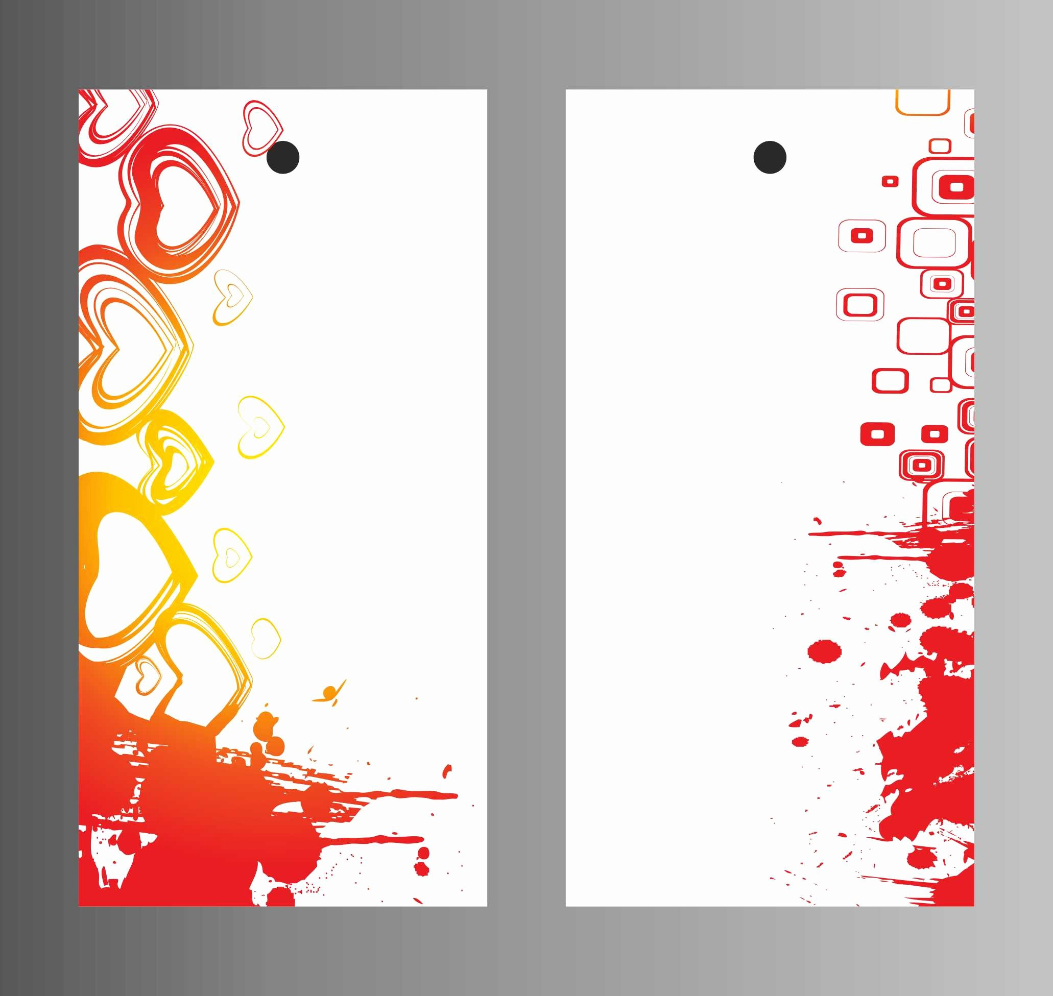 Hang Garment Tag Design Templates Three Balajiprinters