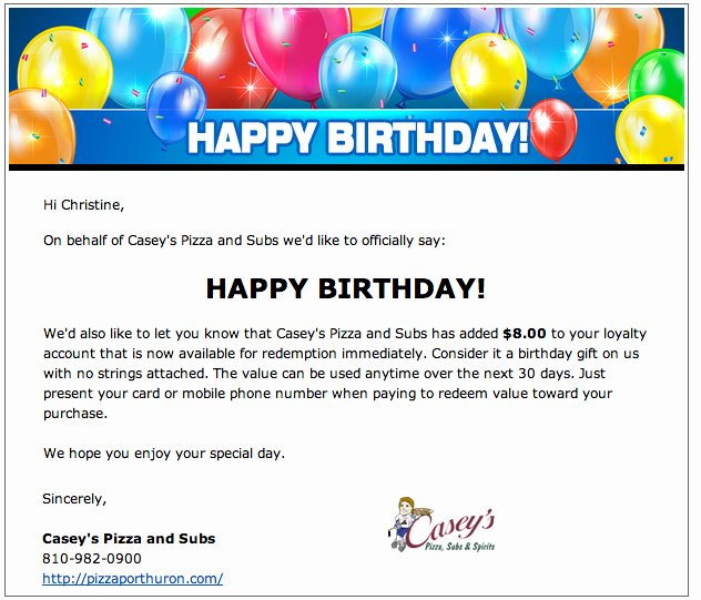 Happy Birthday Email Template First Birthday Invitations
