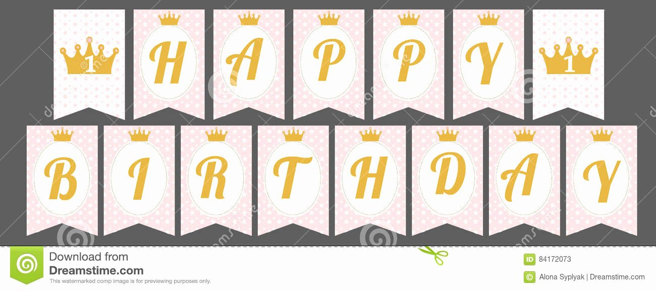 Happy Birthday Letters to Print Printable 360 Degree