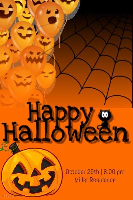 Happy Halloween Template