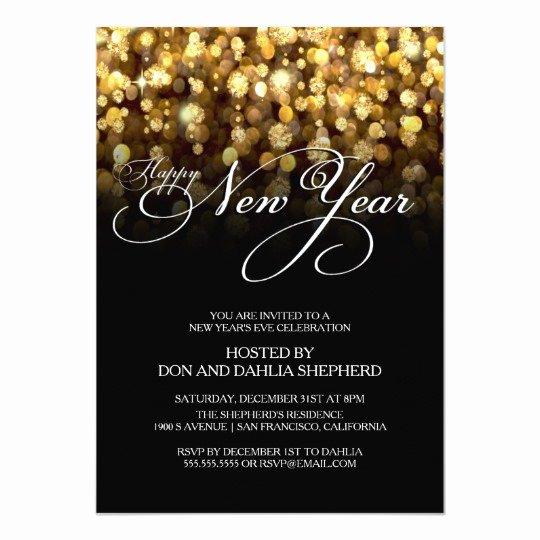 Happy New Year S Eve Party Invitation
