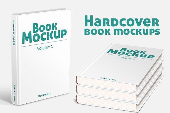 Hardcover Book Mockups Product Mockups Creative Market
