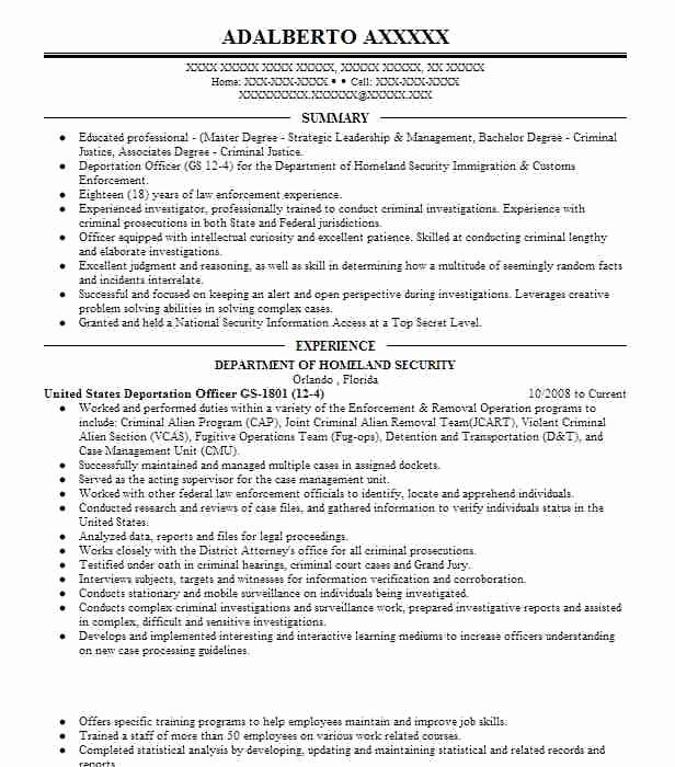 Harvey S Criminal Justice Resume Resume Ideas Criminal