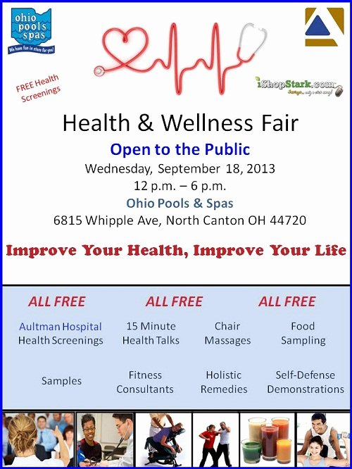 Health & Wellness Fair Free Health Screenings In north