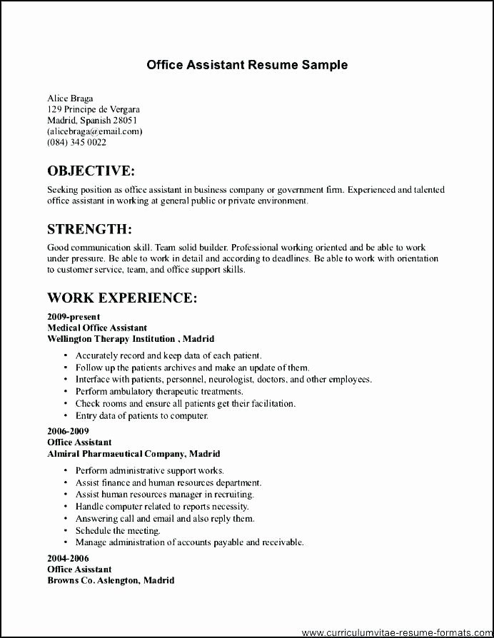 Health Care Administration Resume Public Administration