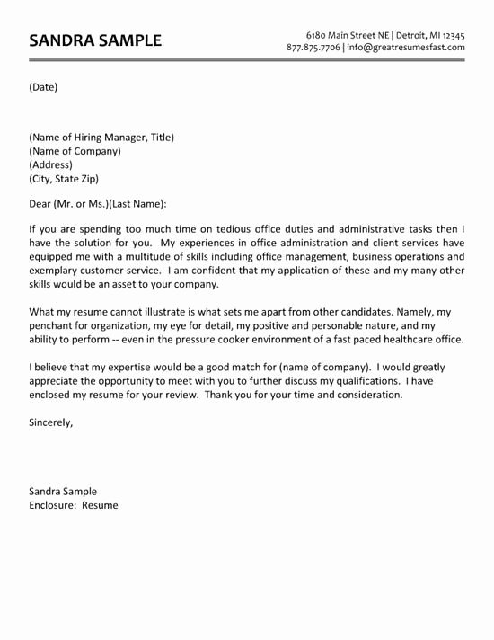 Gallery Of Healthcare Administration Cover Letter