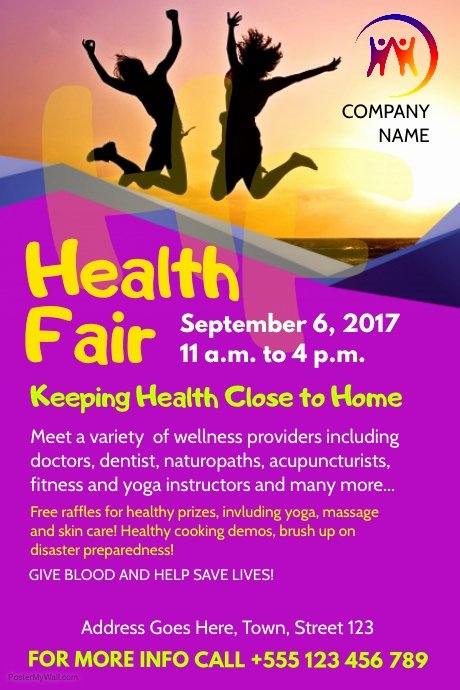 Health Fair Flyer Template
