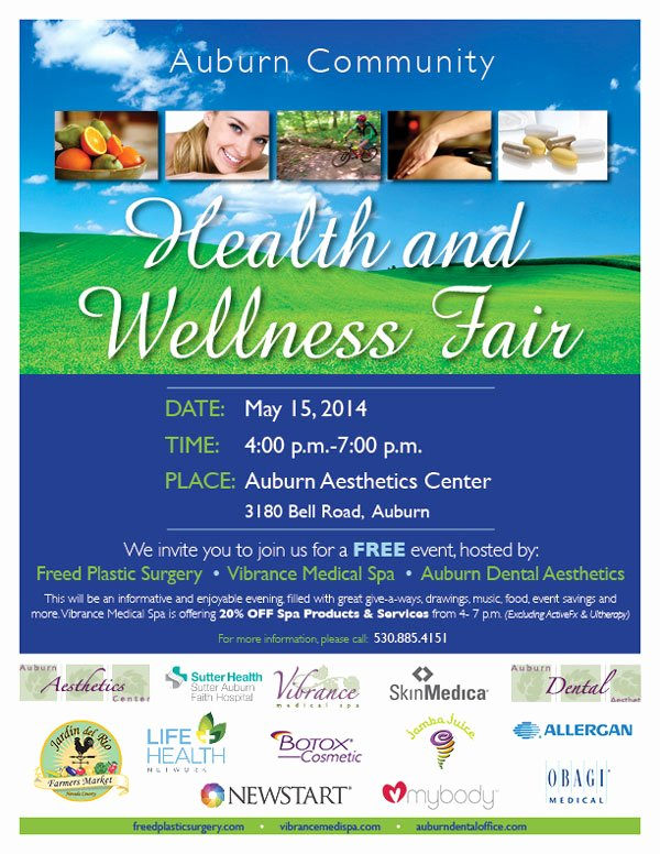health fair may 15
