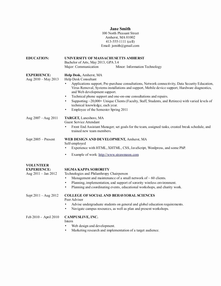 Health Information Technology Resume Objective – Perfect