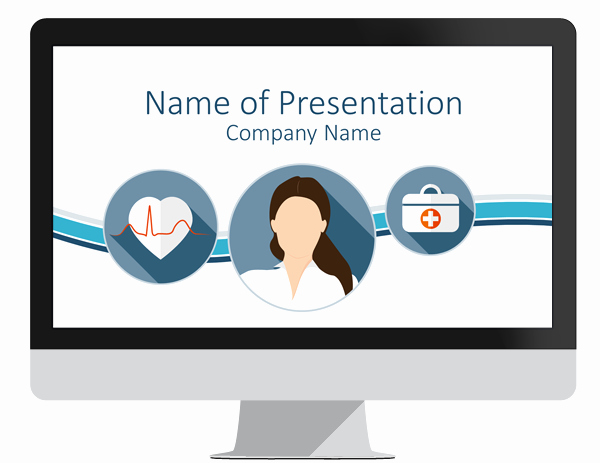 Healthcare Powerpoint Template Free Bountrfo