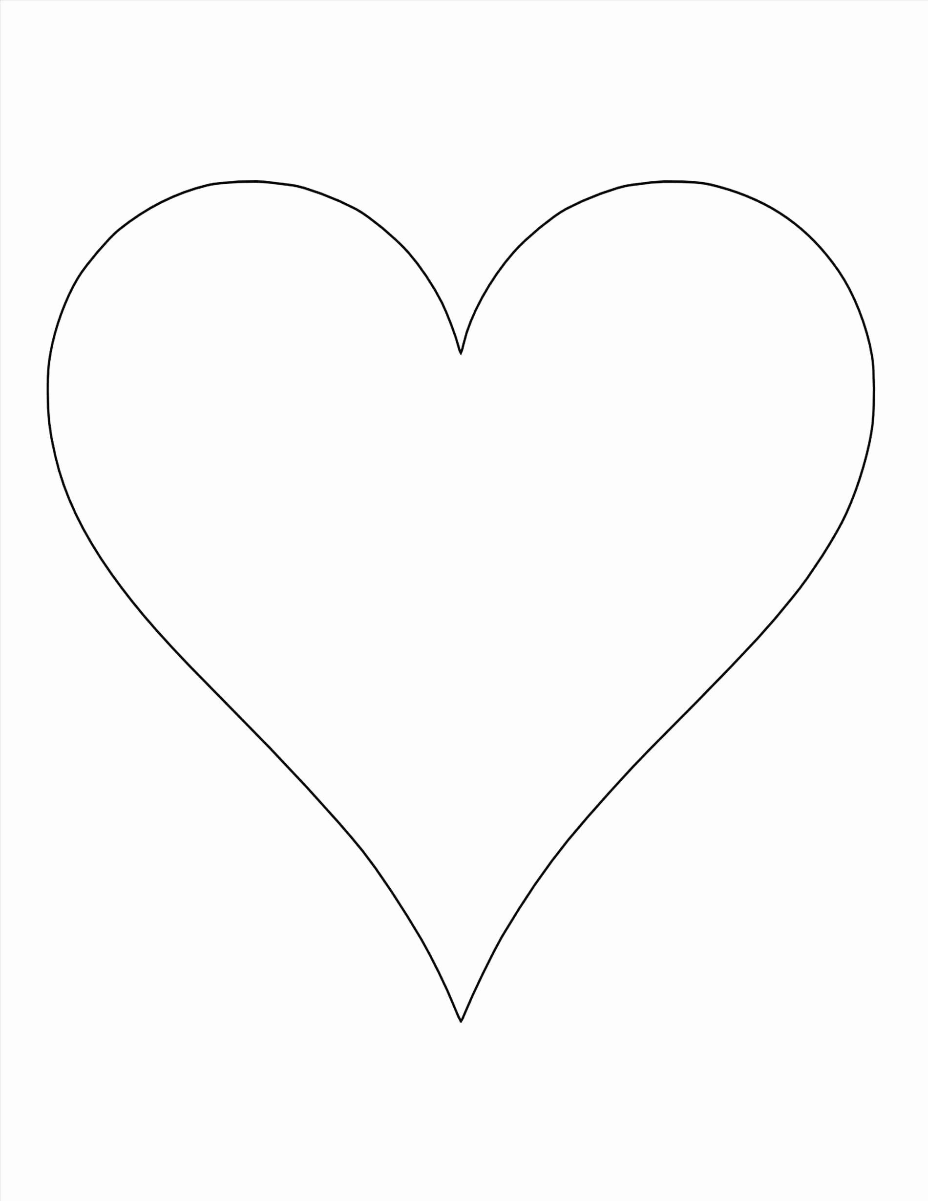 Heart Template Pdf