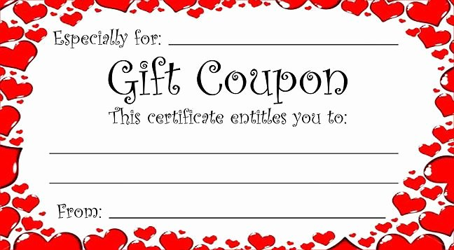 Heart theme T Coupon for Valentine S Day or Any Time