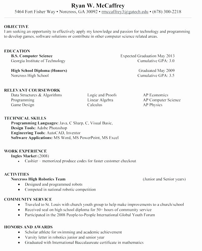 Help Build Resume Pelosleclaire