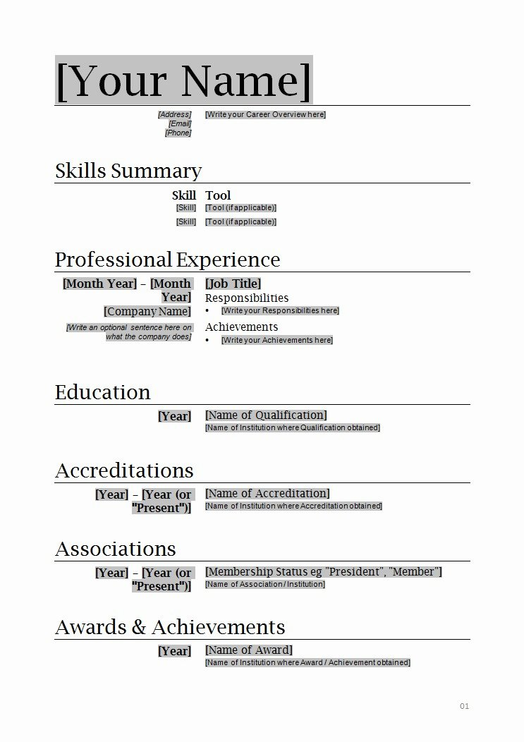 Help to Create A Resume Free Download How to Write A