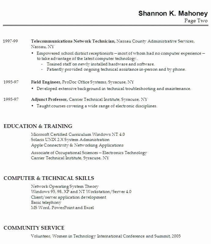 High School Graduate Resume with No Work Experience Best