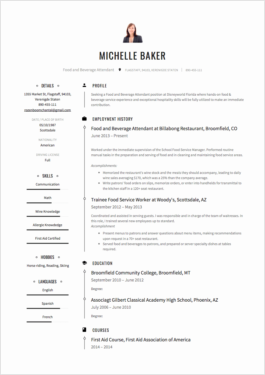 High School Resume Example and Writing Tips [ 2018 ]