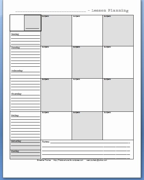 High School Student Planner Template 5 Best Images Of