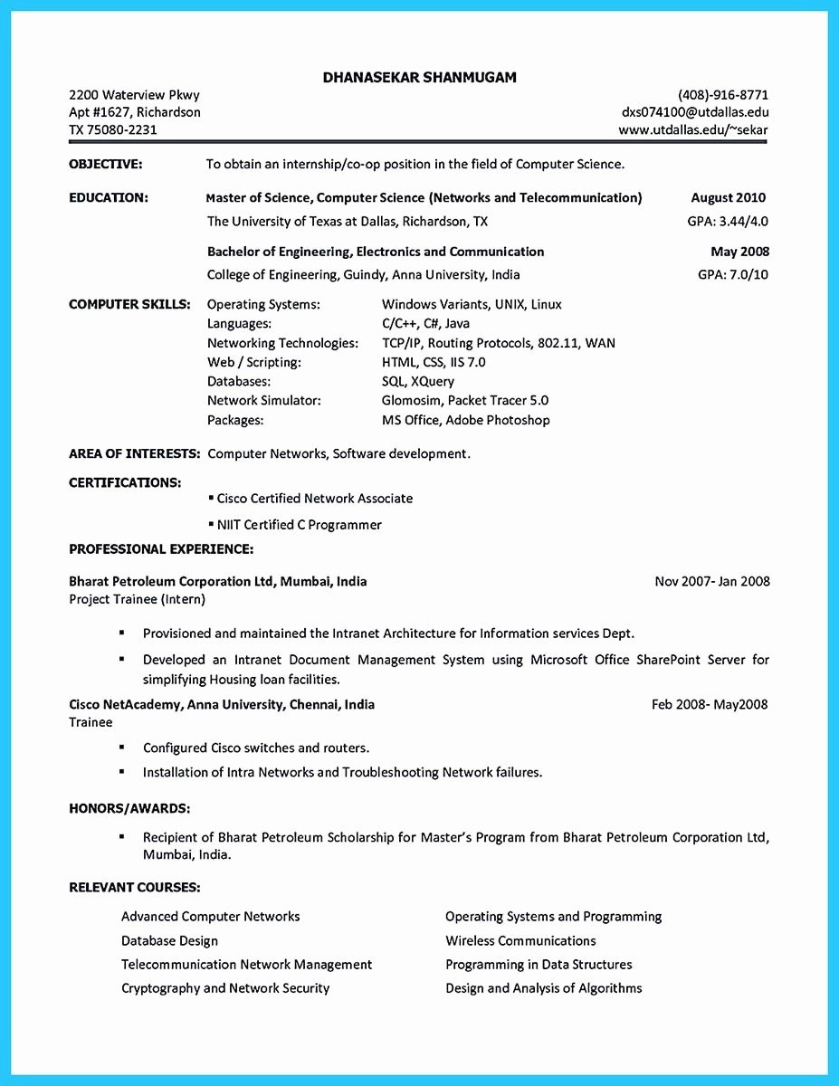 High School Student Resume Luxury for Graduate Builder