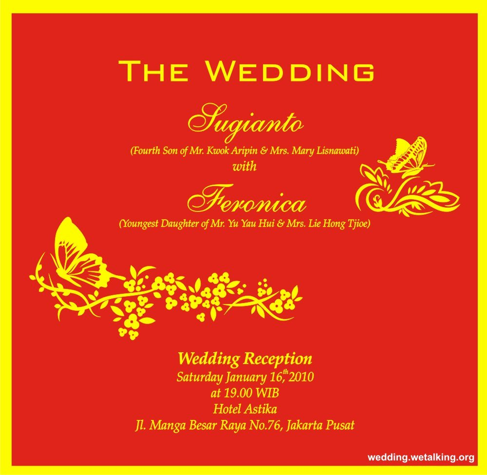 Hindu Marriage Invitation Card Matter In English for