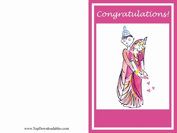 Hindu Wedding Card Template Free Printable and Kits for