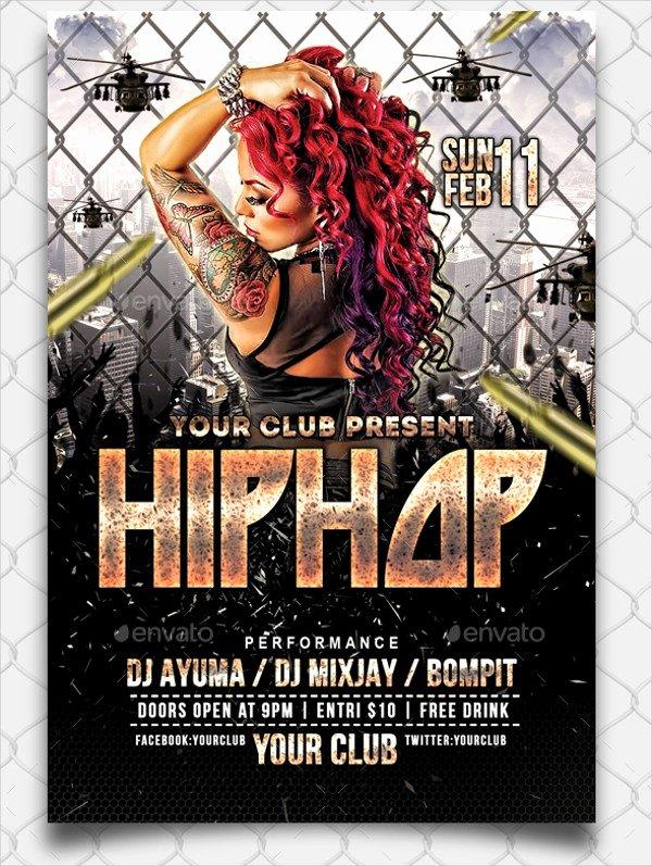 Hip Hop Flyer Templates Yourweek 2cd321eca25e