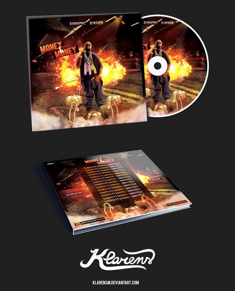 Hip Hop Mixtape Album Cd Cover Free Psd Template by