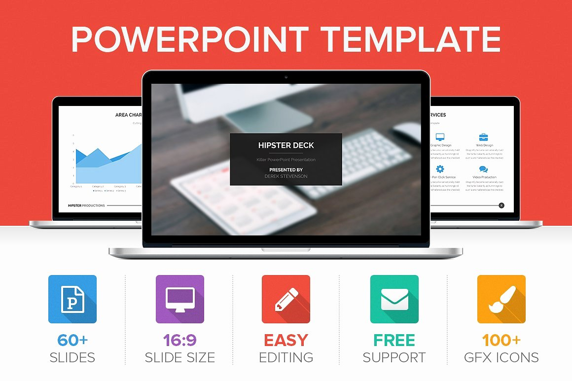 Hipster Powerpoint Template Presentation Templates