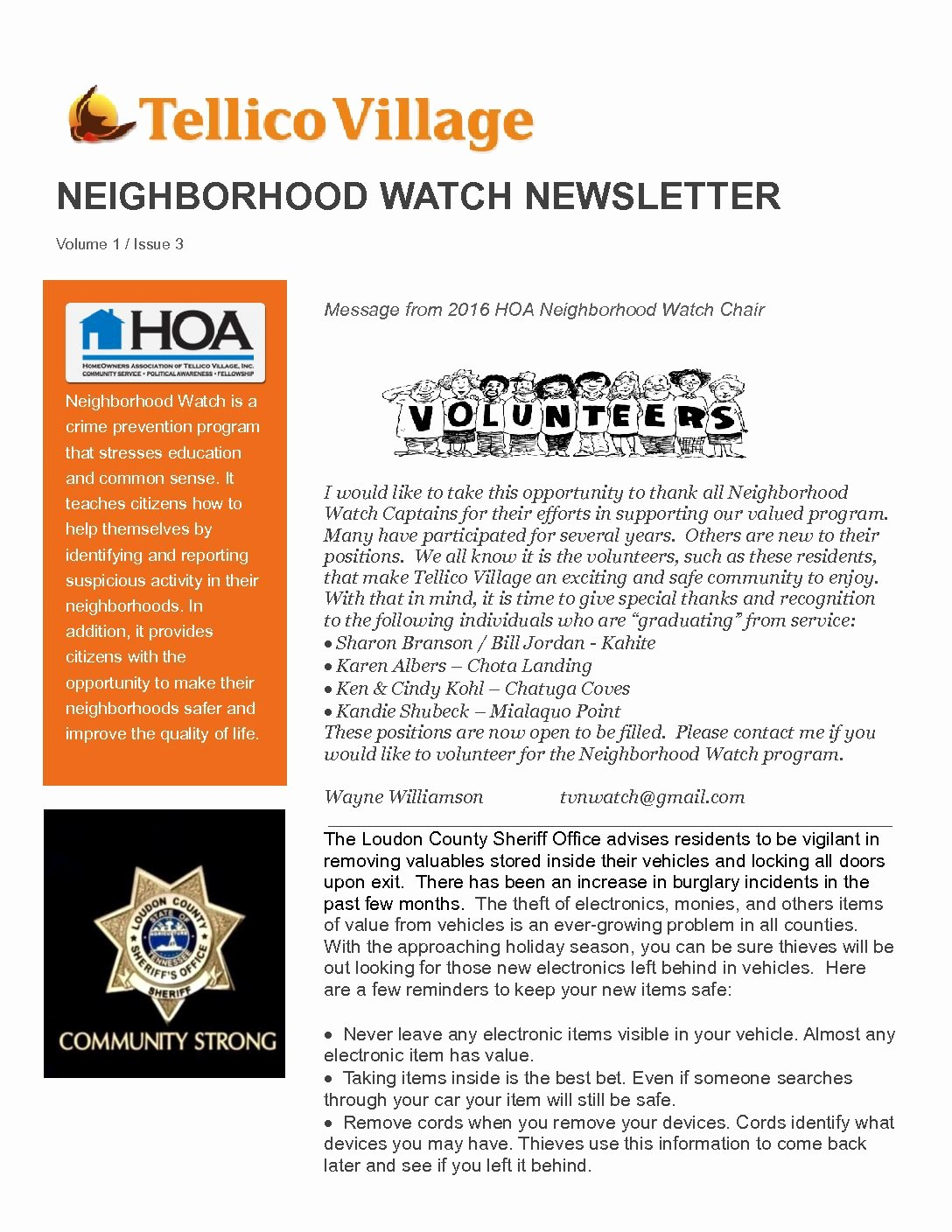 Hoa Newsletters January Related Keywords & Suggestions