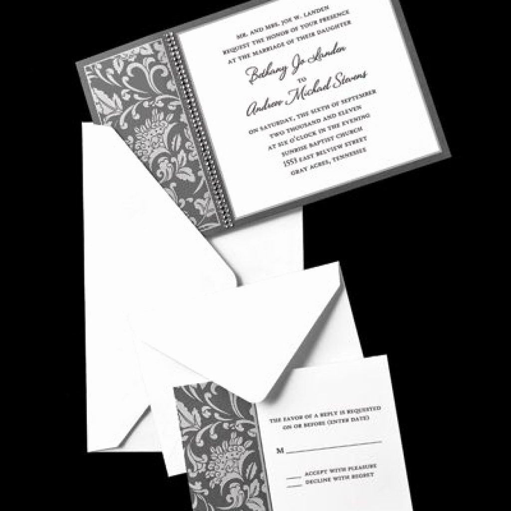 Hobby Lobby Wedding Invitation Templates