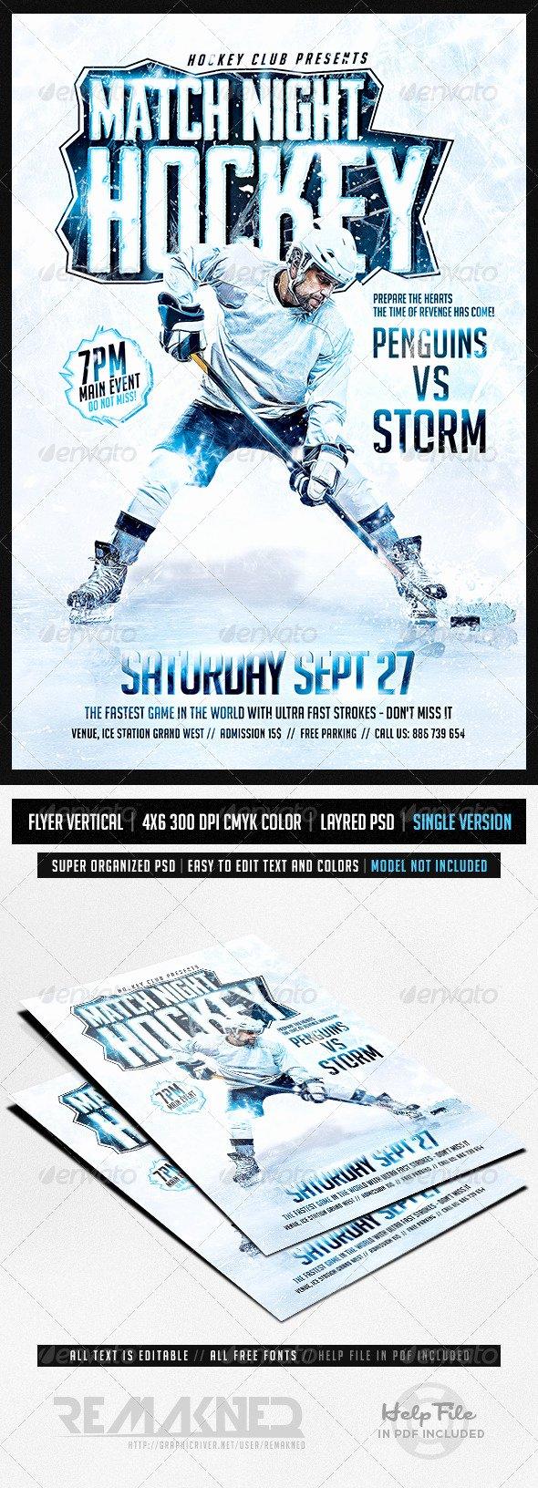 Hockey Game Night