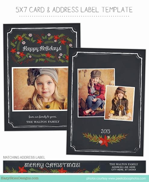 Holiday Card Template for Graphers