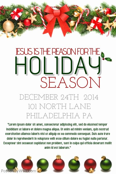 Holiday Flyer Template