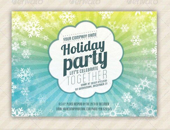 Holiday Invitation Template – 17 Psd Vector Eps Ai Pdf