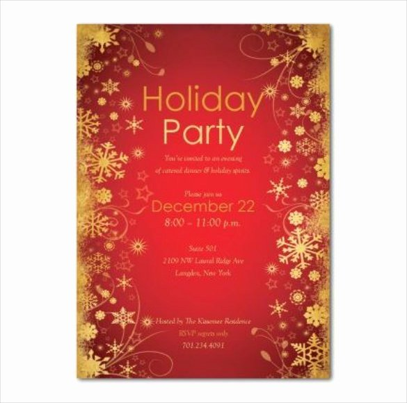 Holiday Invitation Template – 17 Psd Vector Eps Ai Pdf