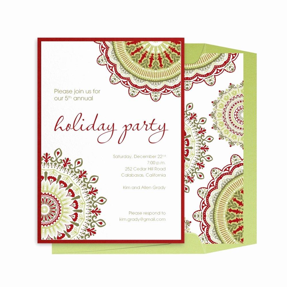 Holiday Invitations Corporate Holiday Invitations