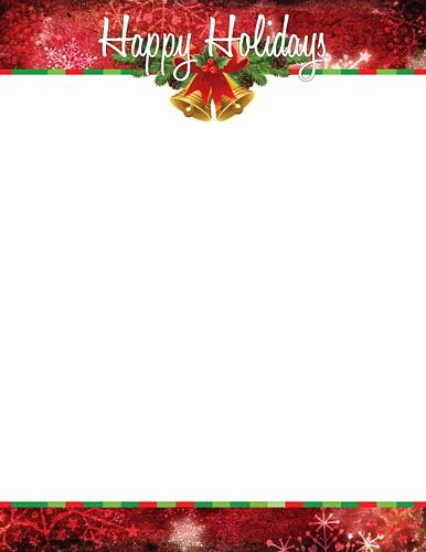 Holiday Letterhead