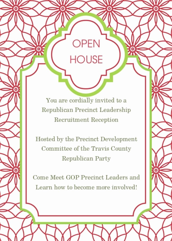 Holiday Open House Invitation Templates Fwauk
