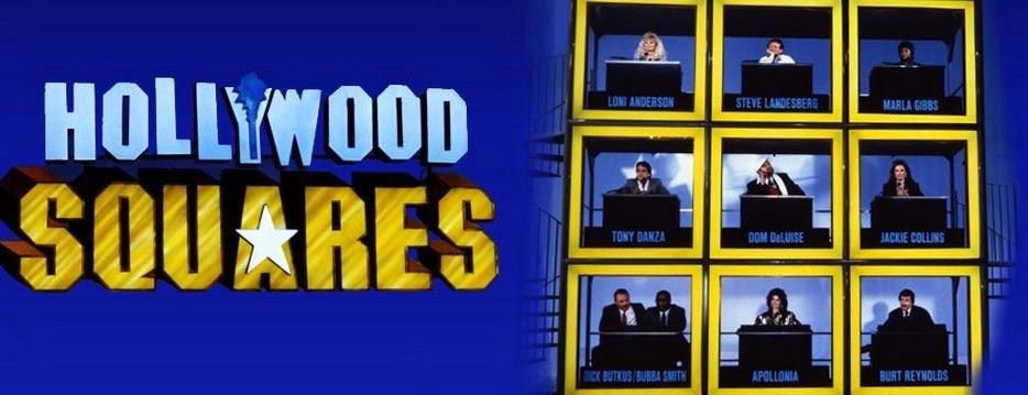 Hollywood Squares Powerpoint Template Game Show Follies