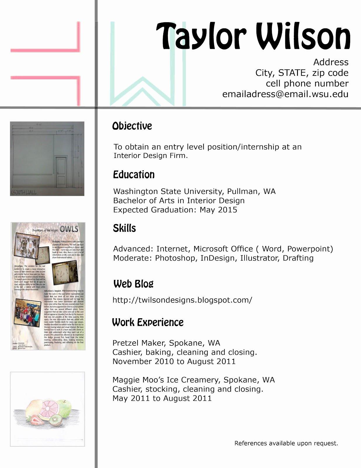 Home Ideas Modern Home Design Interior Designer Resume
