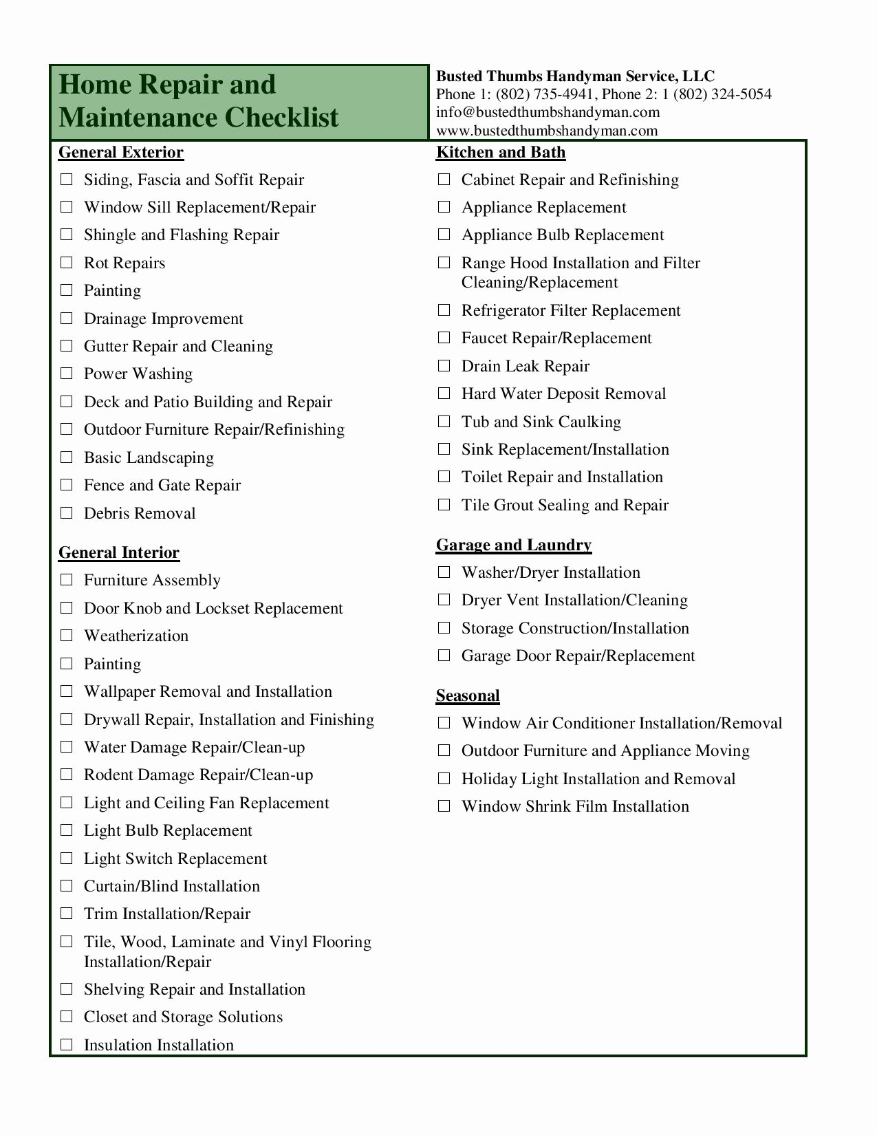 Home Remodeling Checklist Template Bathroom Remodel