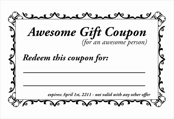 Homemade Coupon Templates – 23 Free Pdf format Download