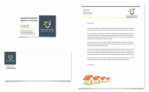 Homeowners association Newsletter Template Word & Publisher