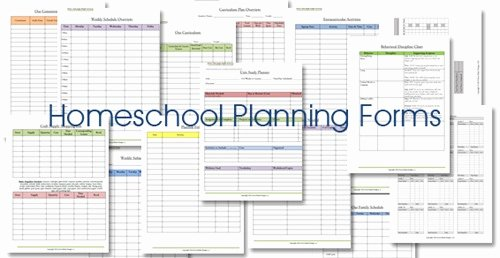 Homeschool Lesson Planner Floral Confessions Of A