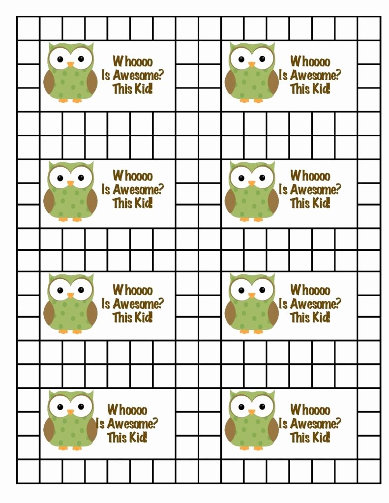 Homework Punch Cards Rewards for Doing Good In School