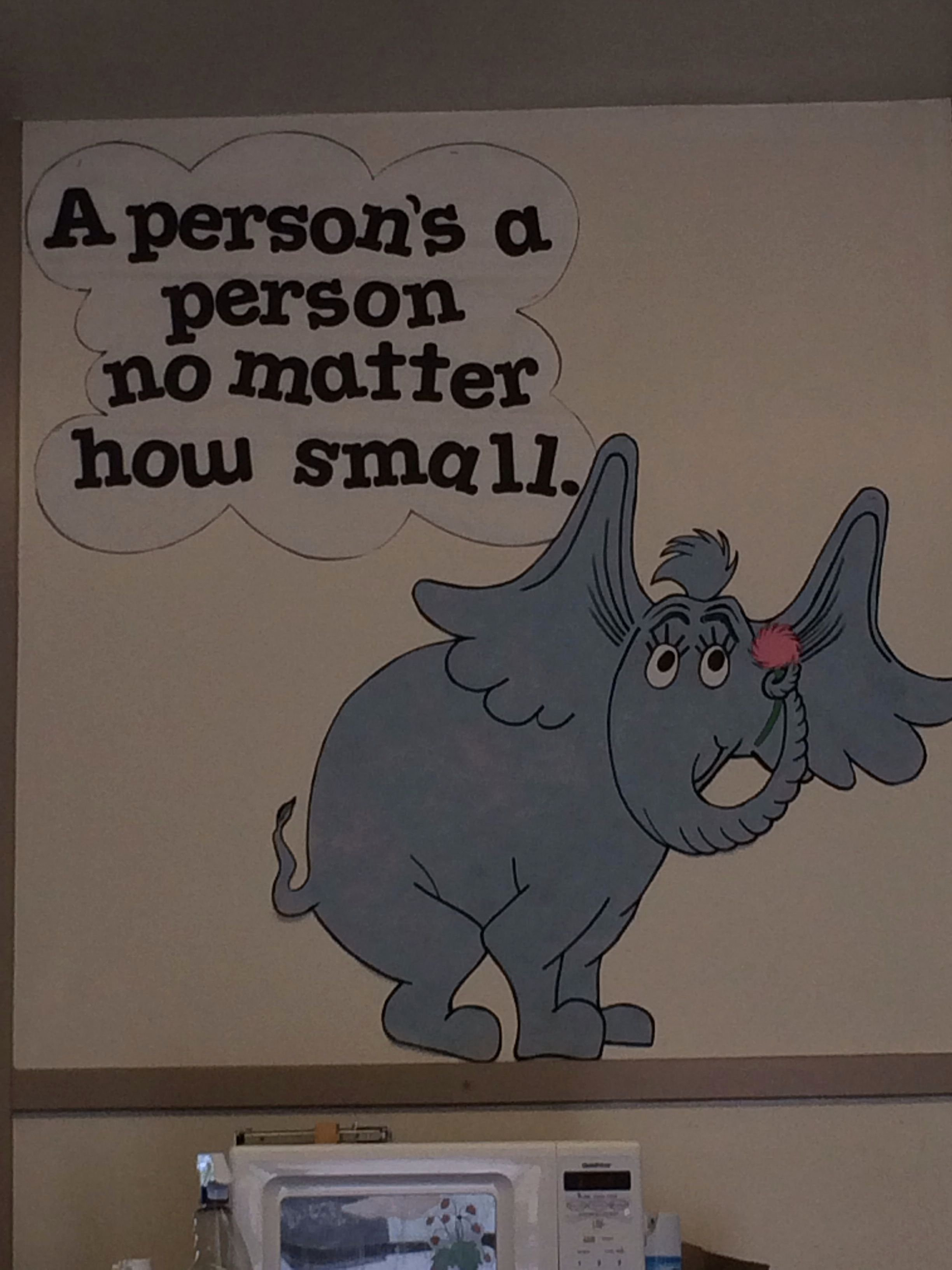 Horton Hears A who Items for Preschool