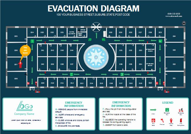 Hotel Fire Escape Plan
