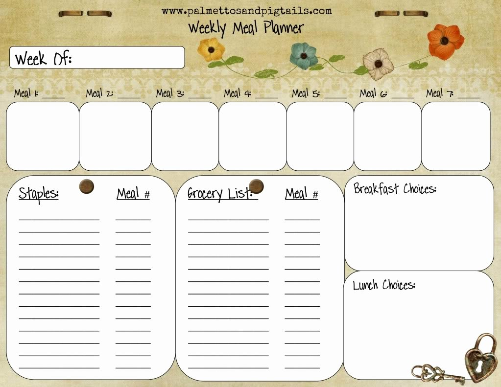 House Cleaning House Cleaning Meal Plan Weekly
