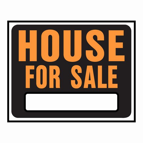 House for Sale Sign Template Clipart Best Clipart Best